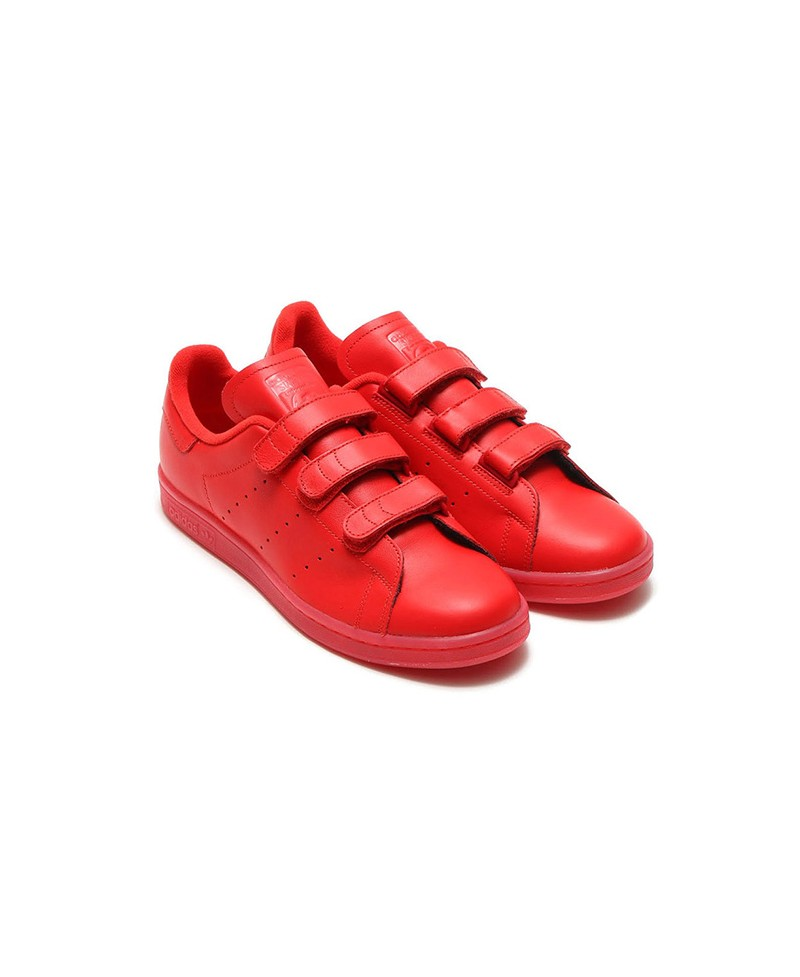 ADIDAS - Stan Smith - rouge
